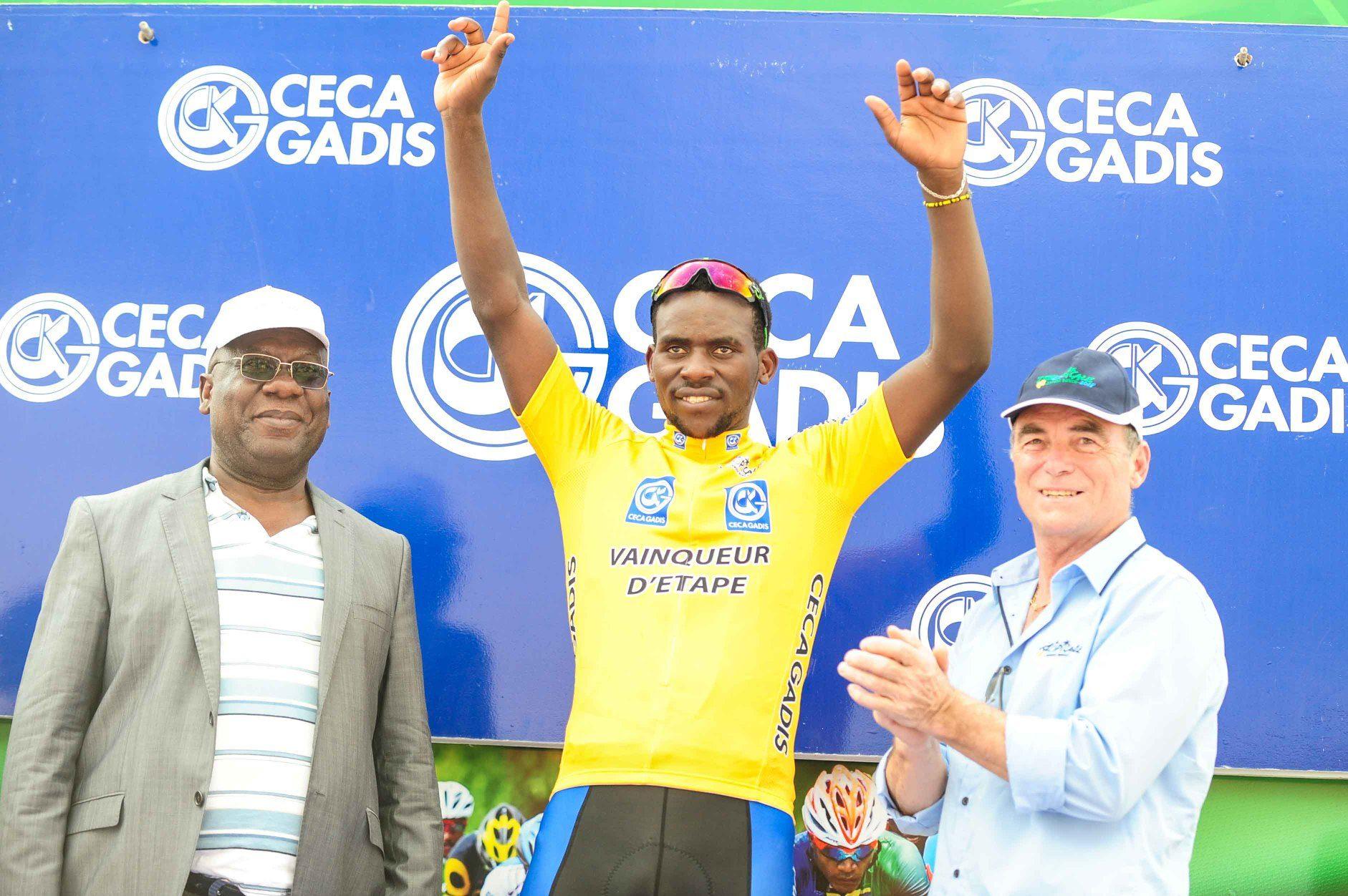 Джозеф Ареруя выиграл четвёртый этап велогонки La Tropicale Amissa Bongo
