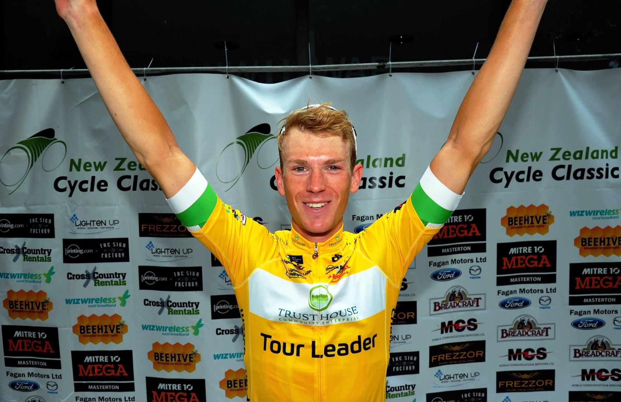 Николас Реддиш выиграл первый этап велогонки New Zealand Cycle Classic