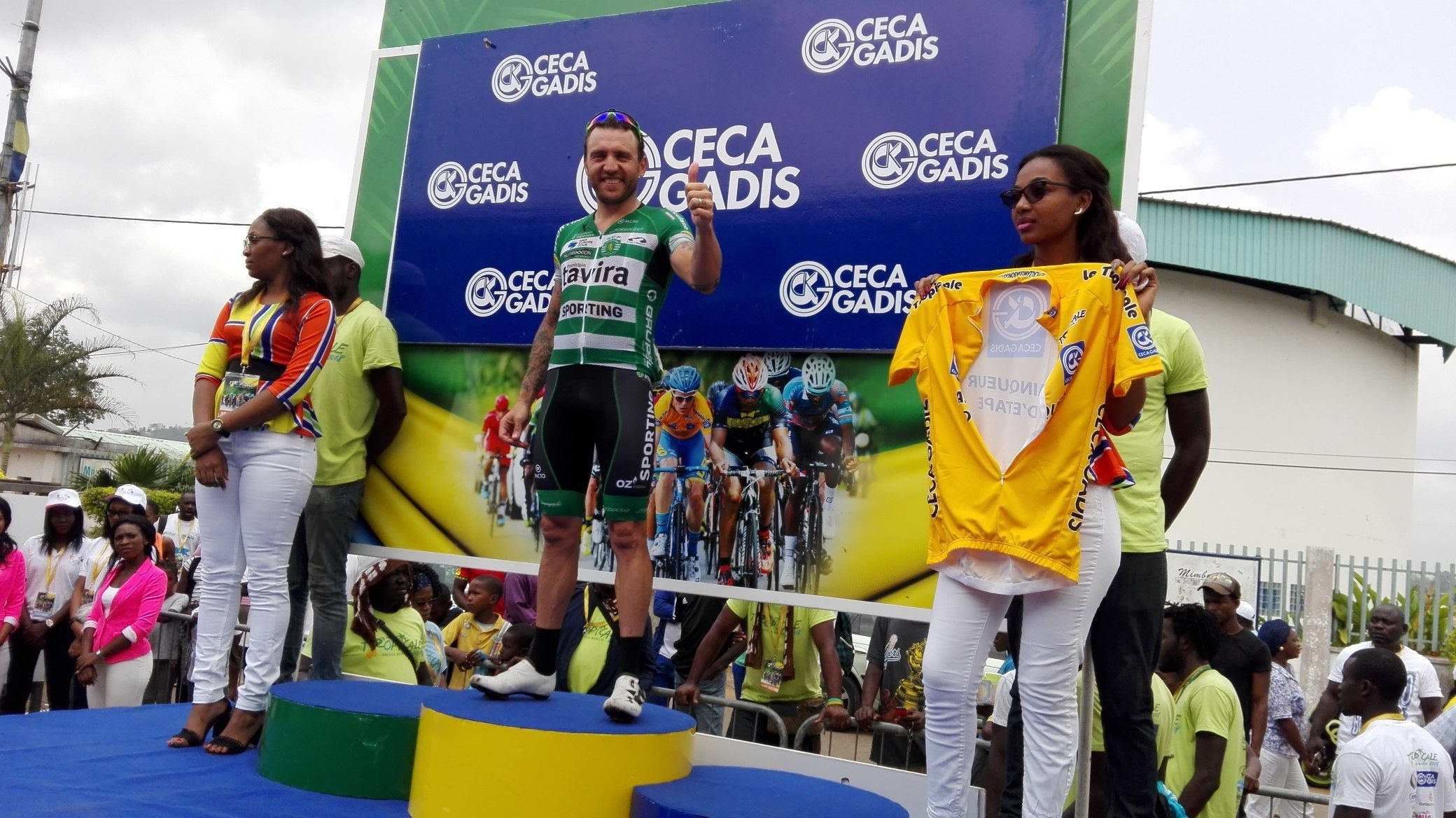 Ринальдо Ночентини выиграл шестой этап велогонки La Tropicale Amissa Bongo