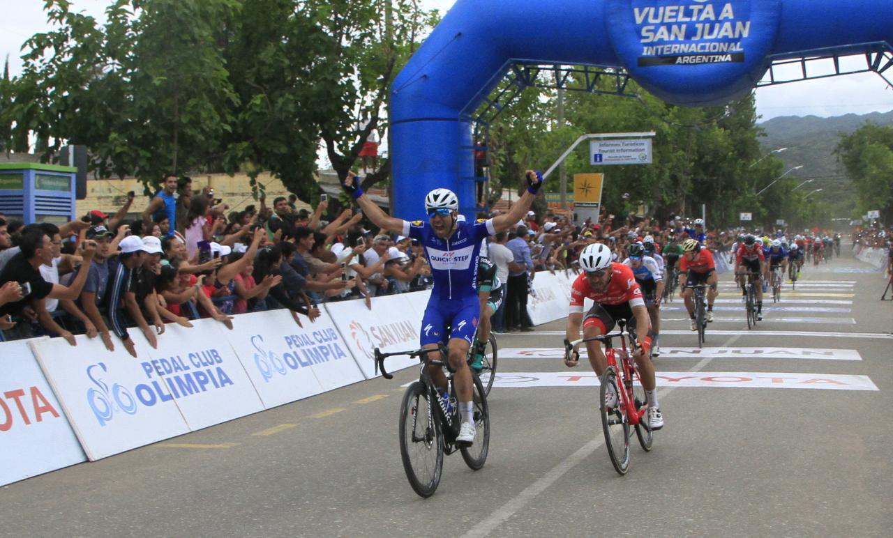Максимилиано Ричезе выиграл четвёртый этап велогонки «Вуэльта Сан-Хуана»