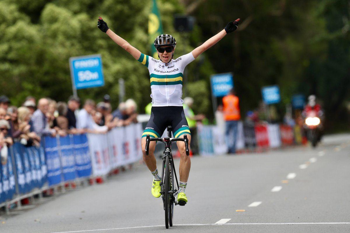 Броди Чепмен выиграла первый этап Womens Herald Sun Tour