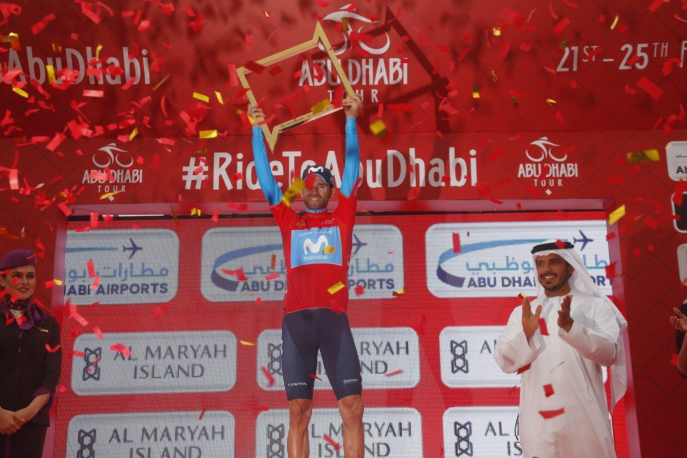 Алехандро Вальверде выиграл велогонку «Тур Абу-Даби — 2018»