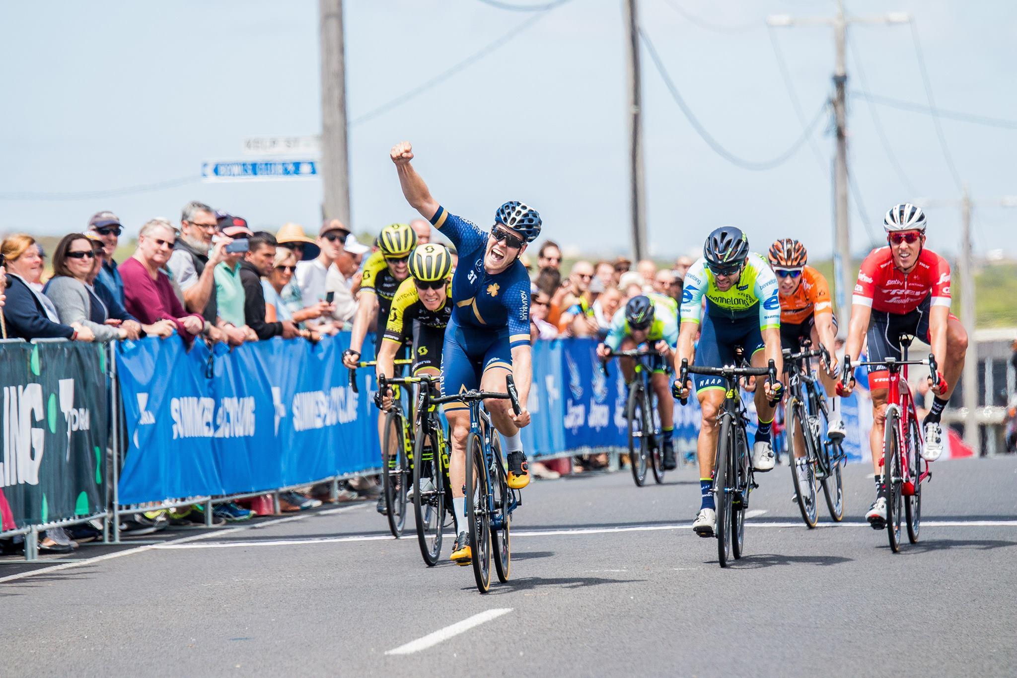 Лассе Норман Хансен выиграл первый этап велогонки Herald Sun Tour