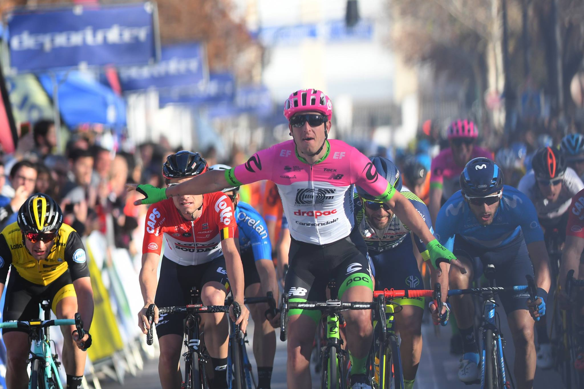 Тома Буда выиграл первый этап велогонки «Вуэльта Андалусии»