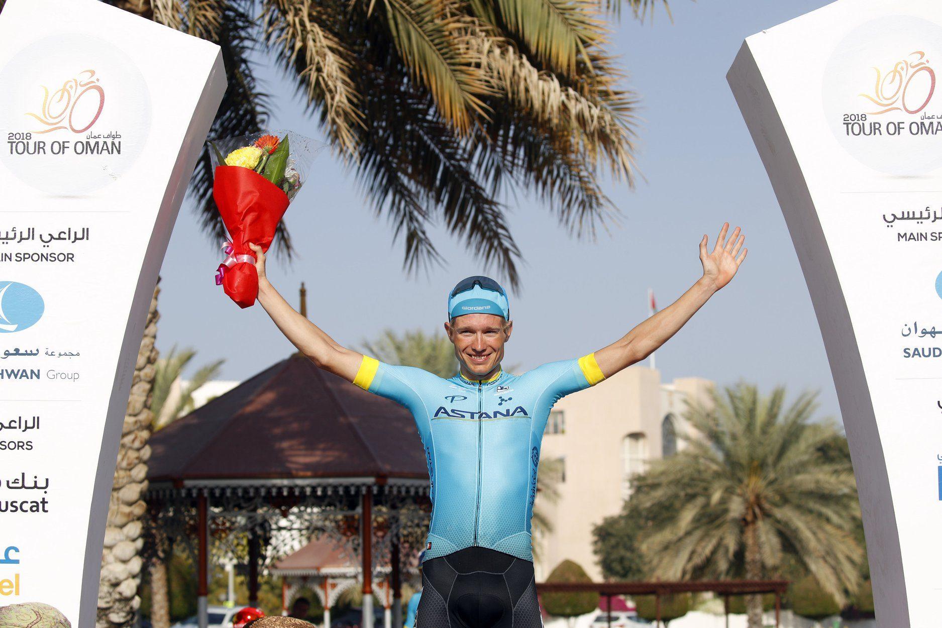 Магнус Корт Нильсен выиграл четвёртый этап «Тура Омана»