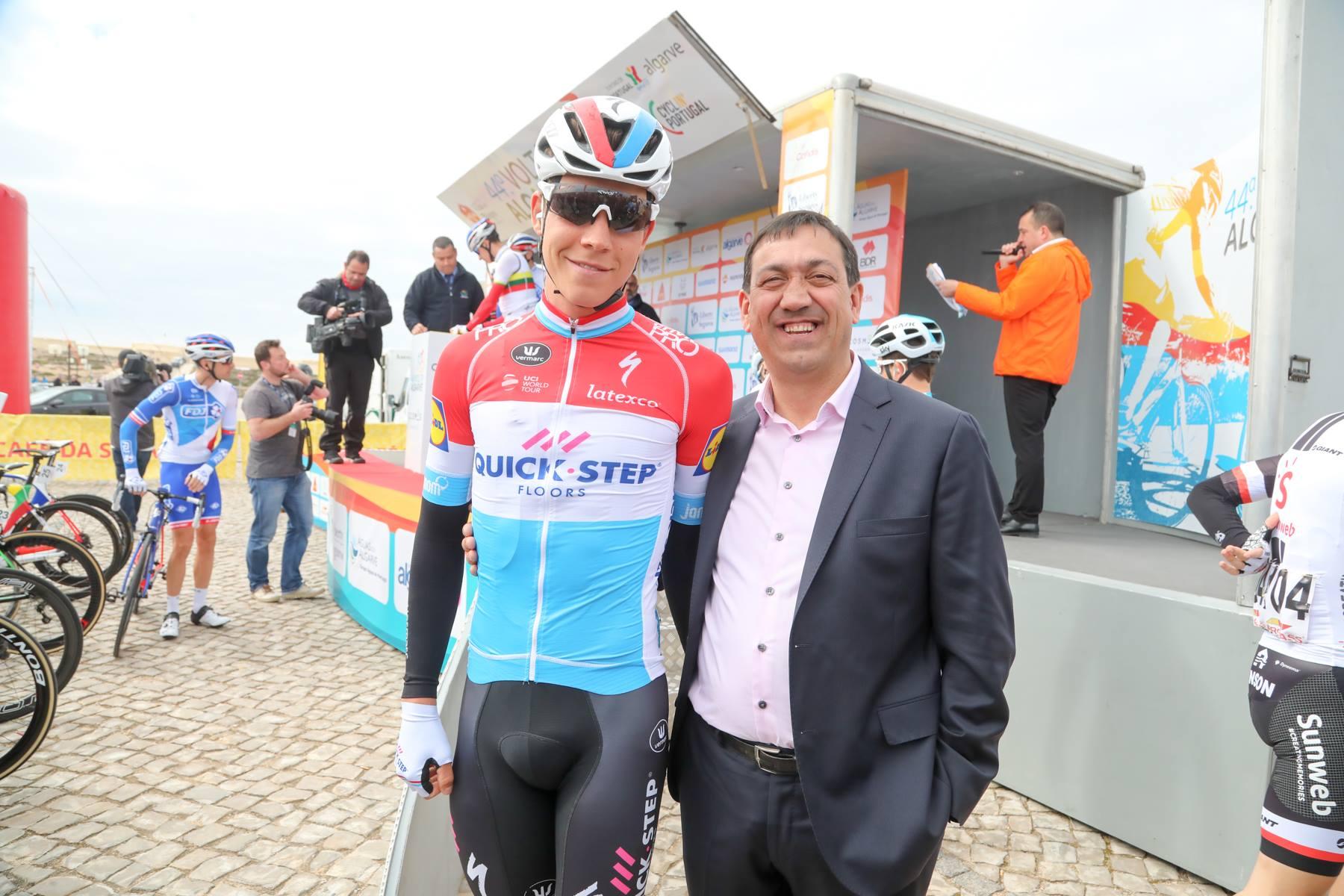 Михал Квятковский одержал победу на втором этапе велогонки «Вольта Алгарви»
