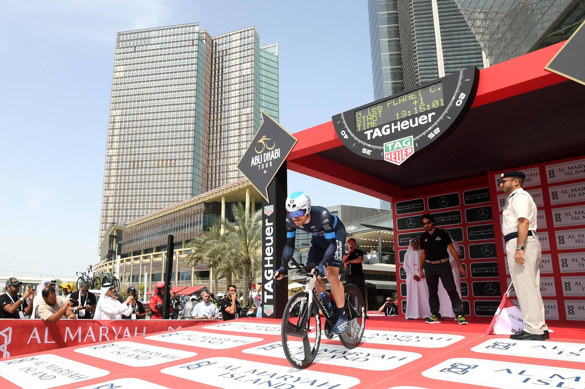 Роан Деннис выиграл «разделку» на «Туре Абу-Даби»