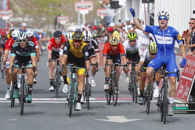 Элиа Вивиани одержал победу на втором этапе «Тура Абу-Даби»