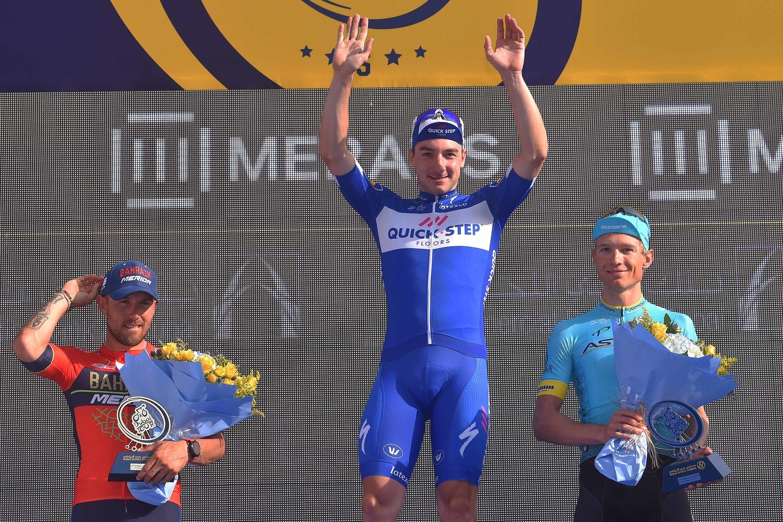 Элиа Вивиани выиграл велогонку «Тур Дубая»