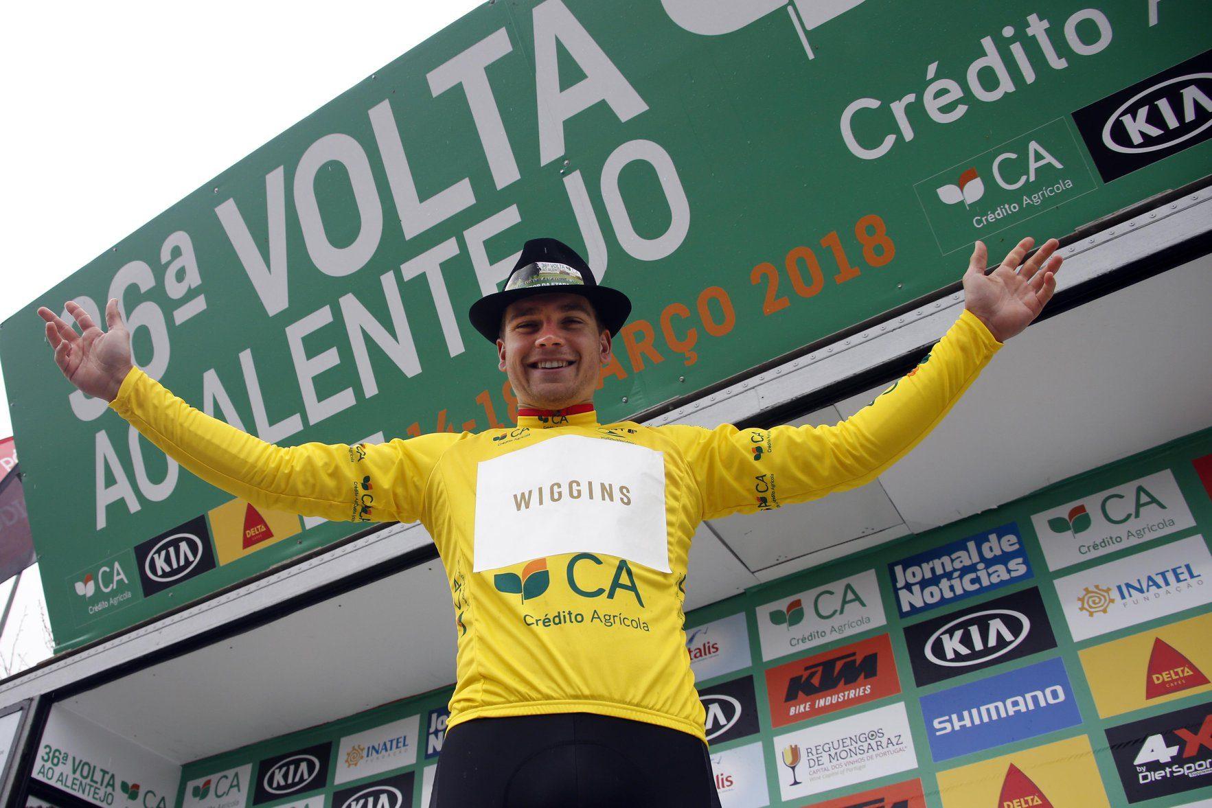 Габриэль Каллай выиграл первый этап велогонки «Вольта Алентехо»