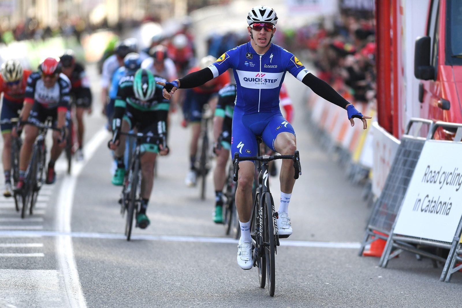 Альваро Одег — победитель первого этапа «Вуэльты Каталонии»
