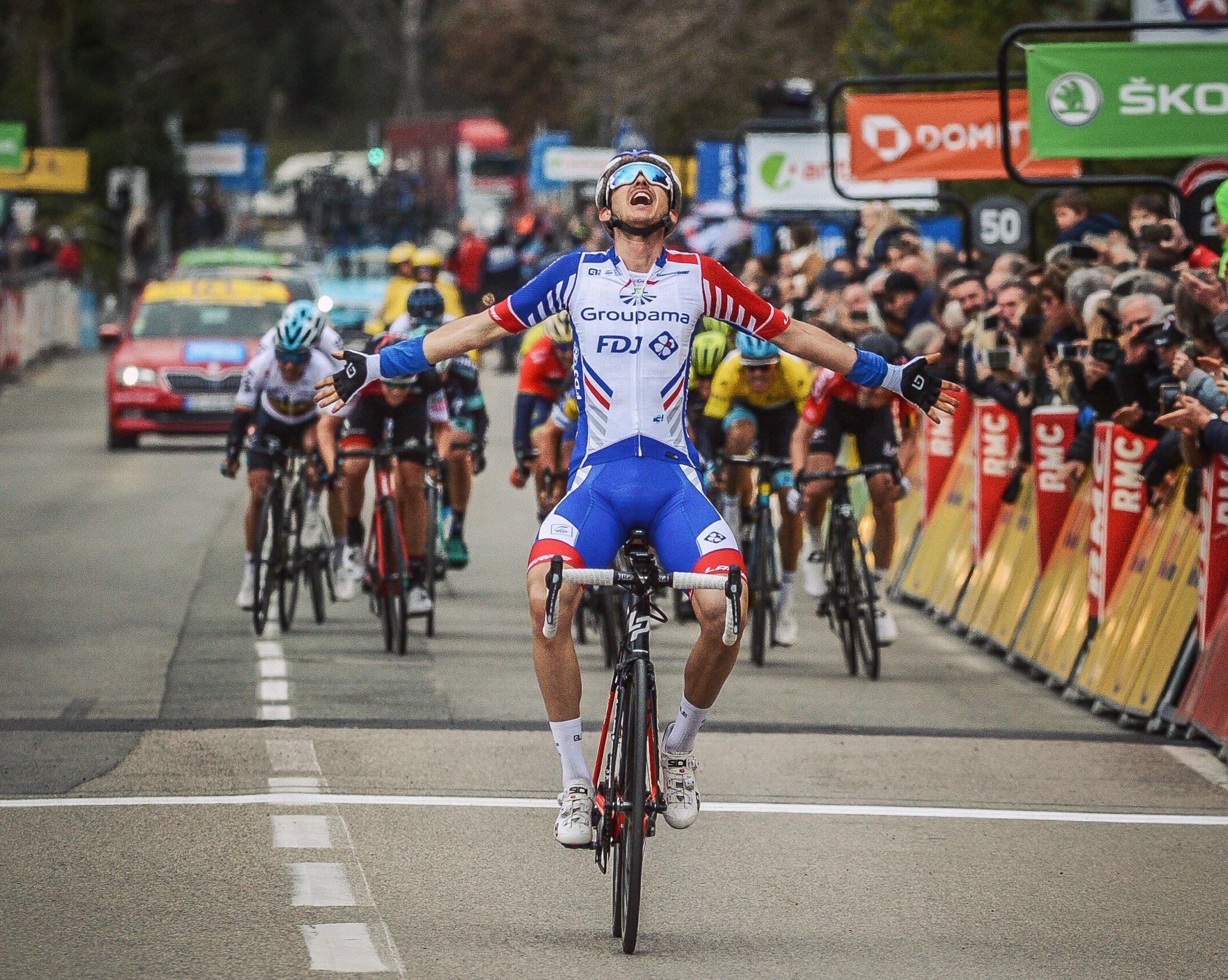 Руди Молар выиграл шестой этап велогонки «Париж — Ницца»