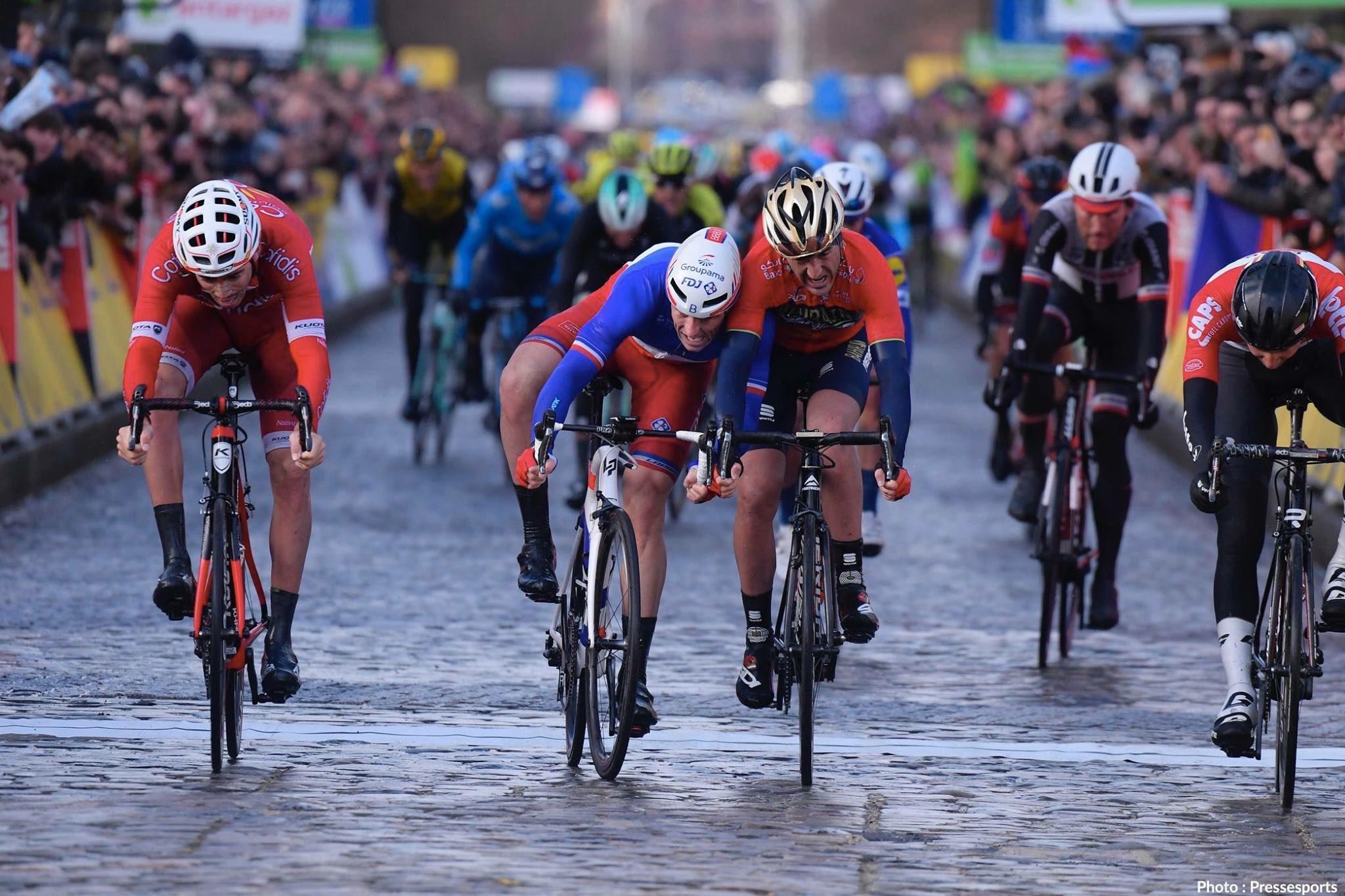 Арно Демар выиграл первый этап велогонки «Париж — Ницца»