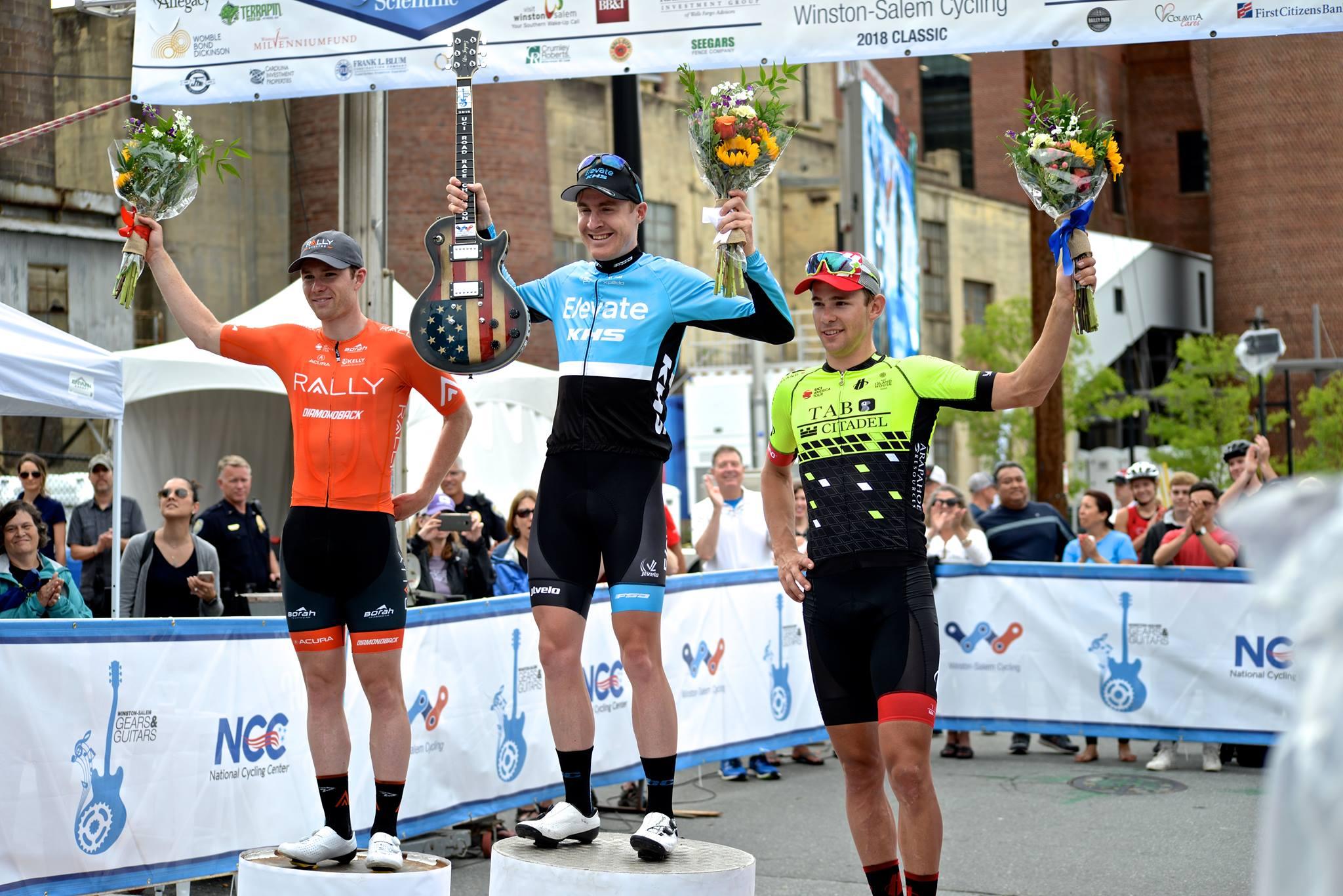 Подиум Winston Salem Cycling Classic — 2018