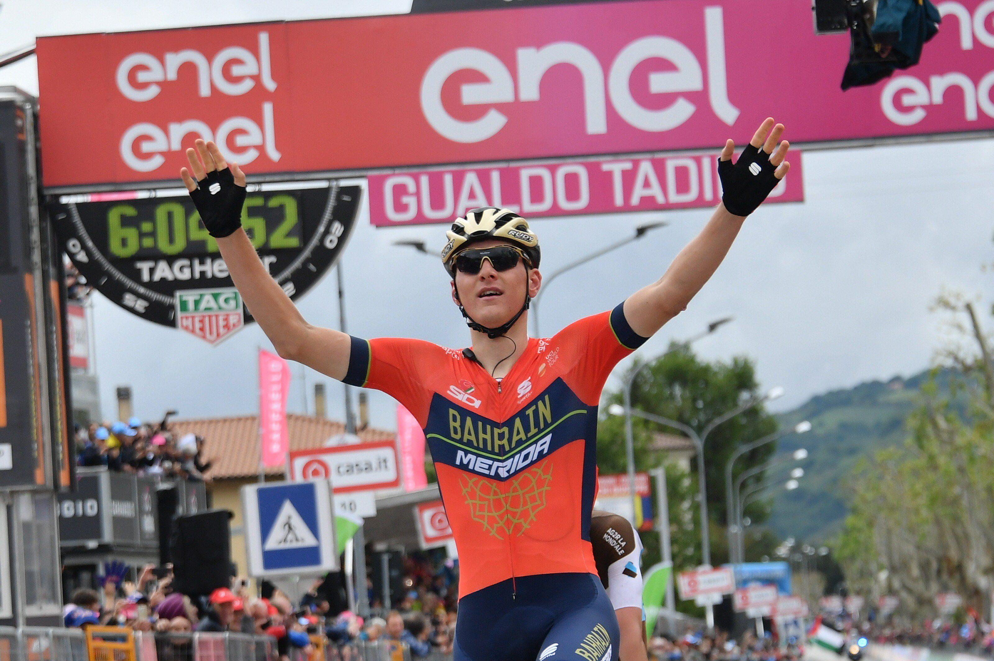 Матей Мохорич выиграл 244-километровый этап «Джиро д'Италия»