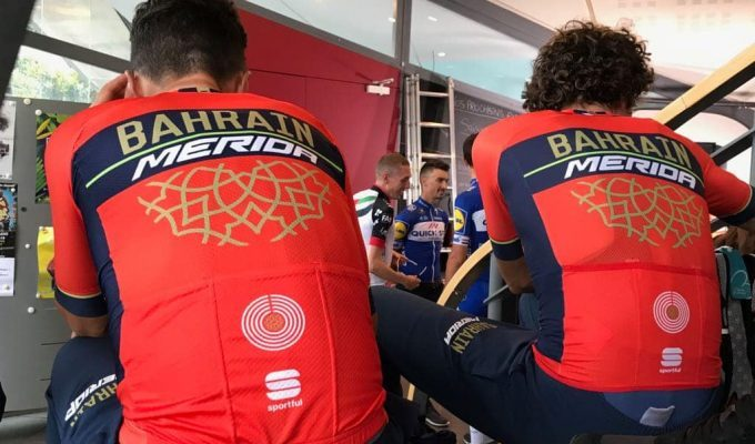 Команда Bahrain Merida Pro Cycling Team