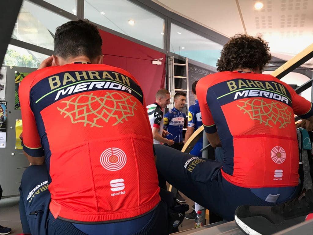 Команда Bahrain Merida Pro Cycling Team