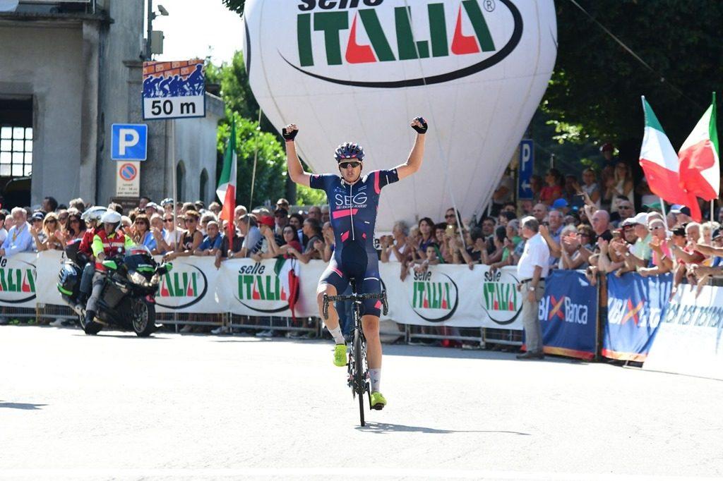 Эдоардо Аффини— чемпион Италии повелоспорту среди андеров