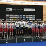 Российские велогонщики завоевали бронзу на чемпионате мира по трековому велоспорту среди юниоров