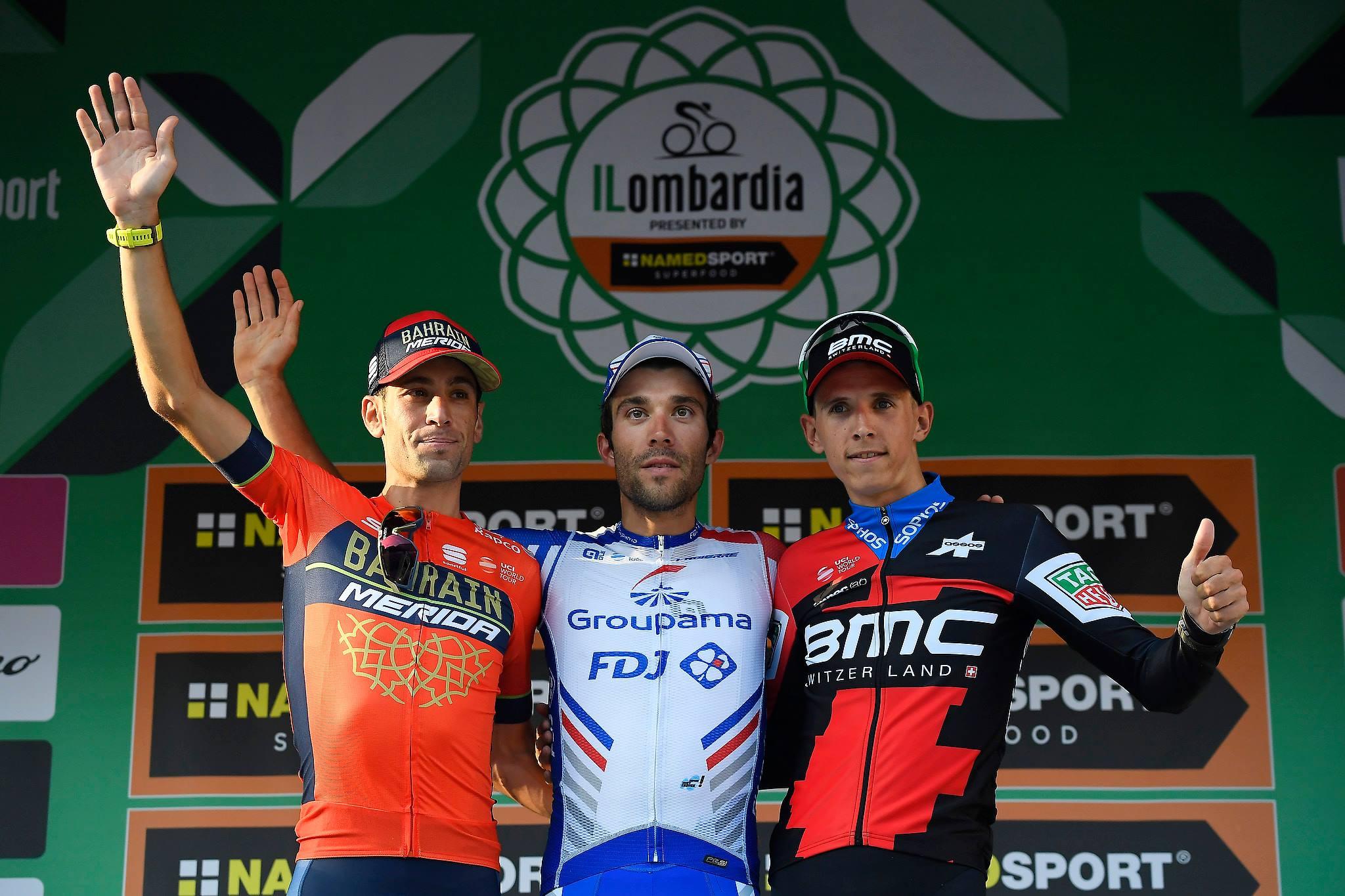 Тибо Пино выиграл велогонку «Джиро ди Ломбардия»