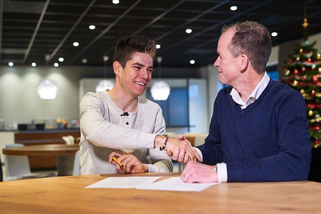 Ваут ван Арт начнёт выступать за Team Jumbo-Visma с марта 2019 года