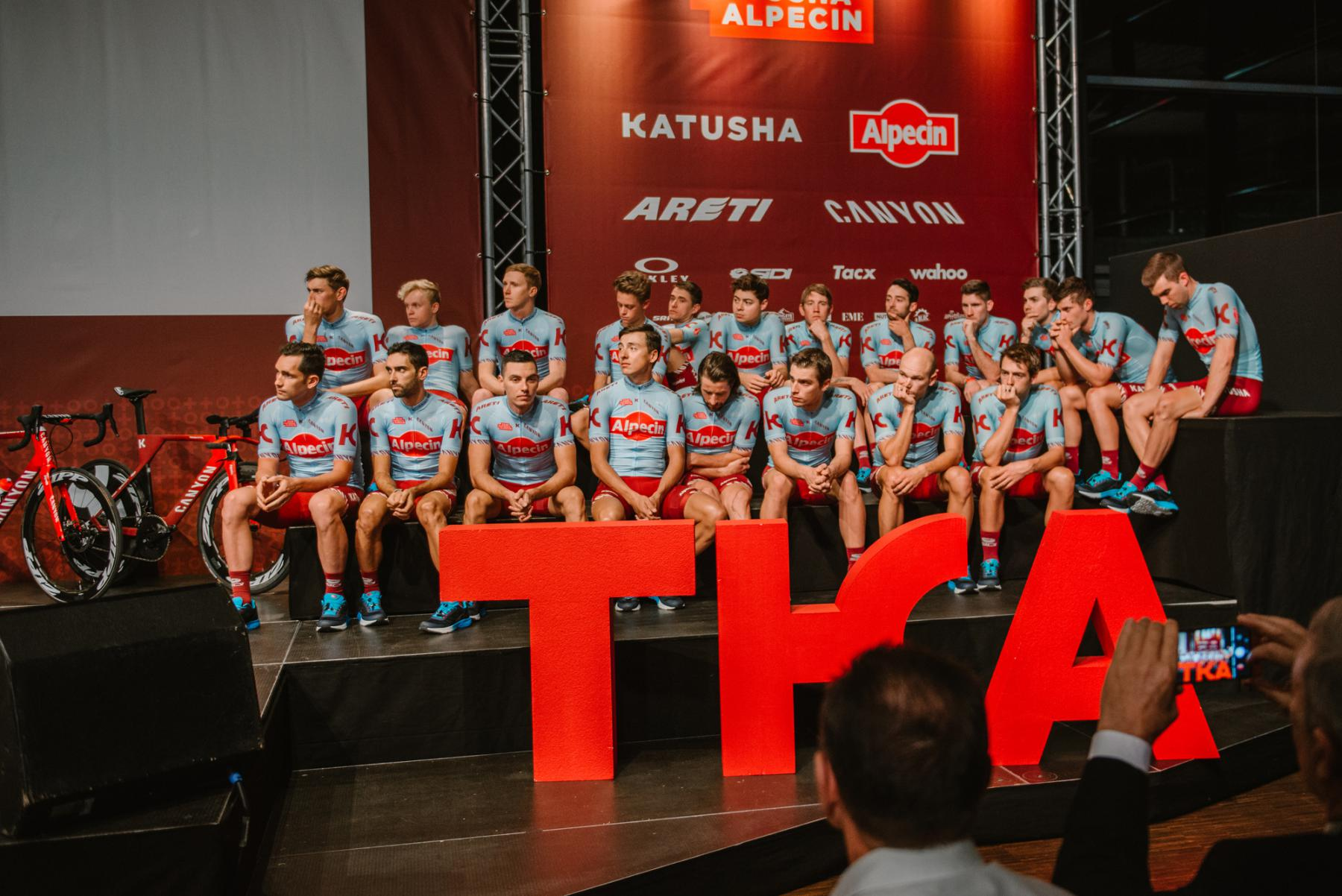 Презентация Team Katusha — Alpecin — 2019
