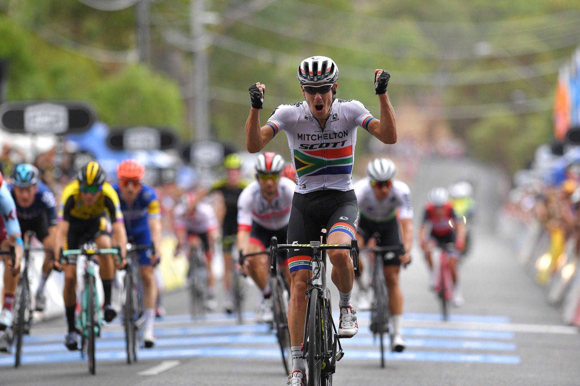 Дэрил Импи выиграл четвёртый этап велогонки «Тур Даун Андер»