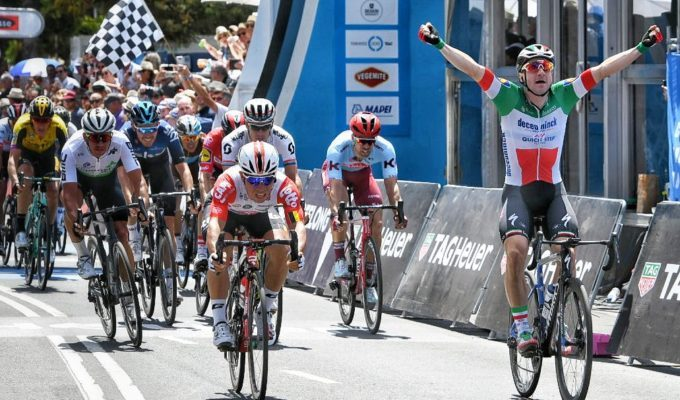 Элиа Вивиани выиграл велогонку Cadel Evans Great Ocean Road Race