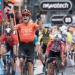 Патрик Бевин выиграл второй «Тур Даун Андер», оставив позади Юэна и Сагана