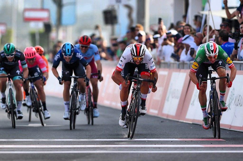 Фернандо Гавирия вырвал победу на втором этапе «Тура ОАЭ»