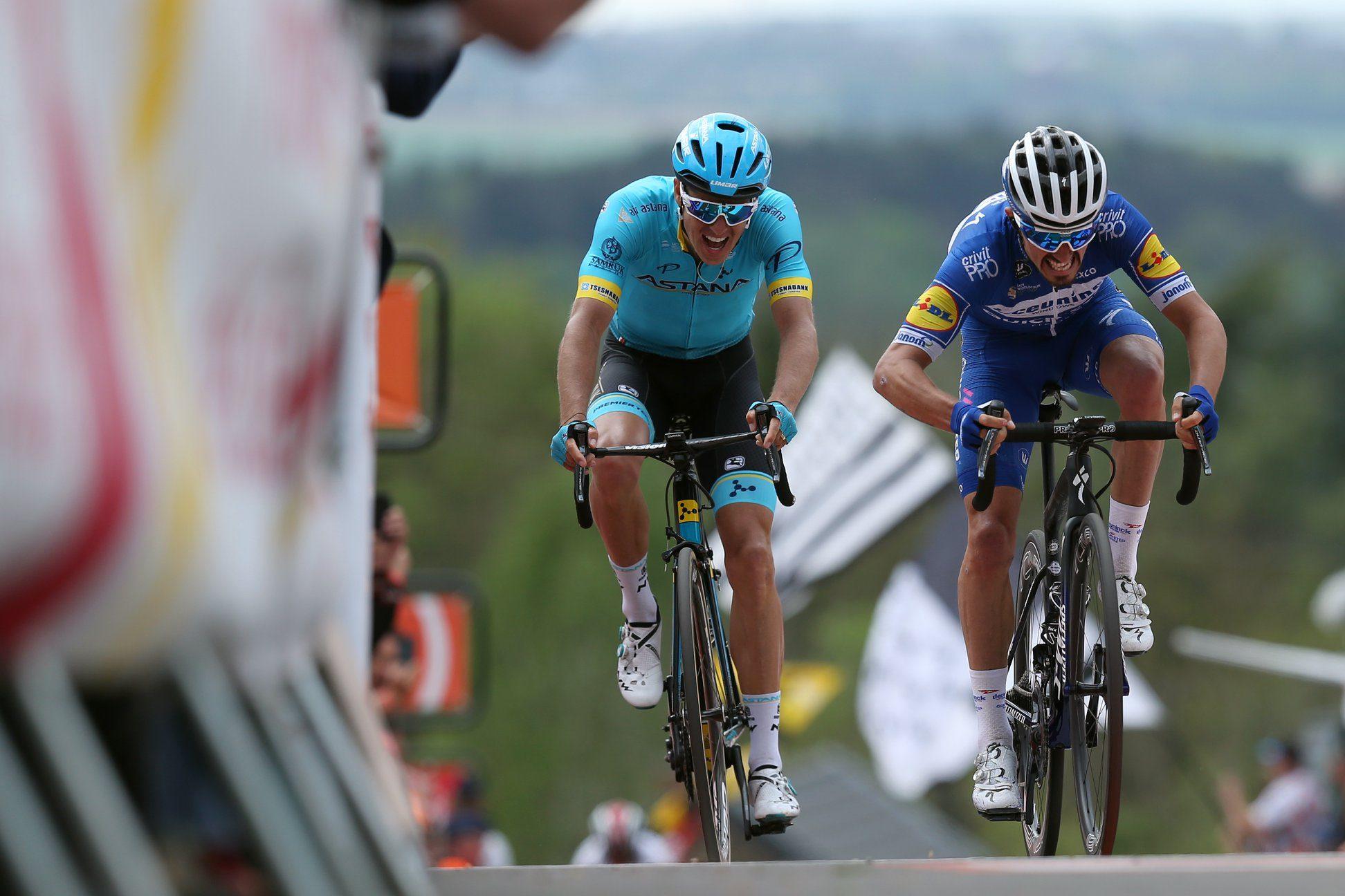 Жюлиан Алафилипп выиграл велогонку «Флеш Валлонь— 2019»