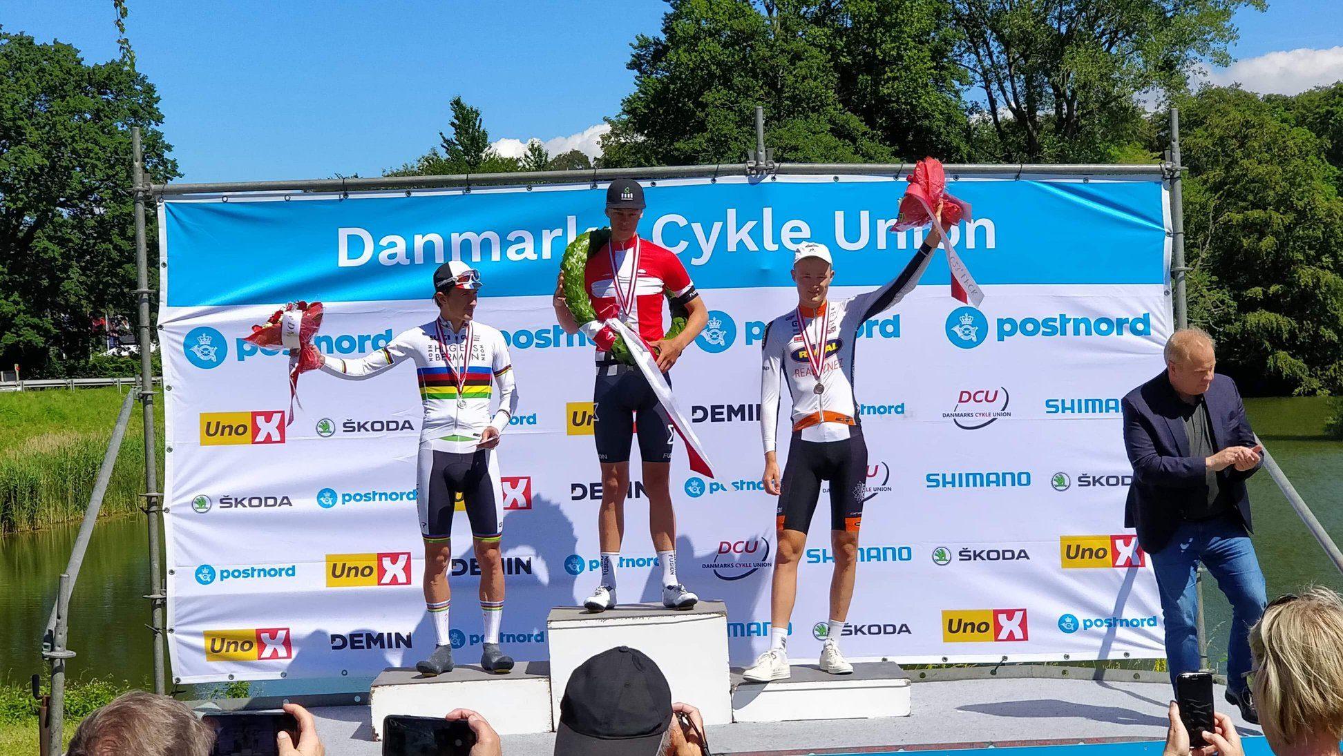 Йохан Прайс-Пейтерсен выиграл «разделку» на датском чемпионате по велоспорту среди андеров