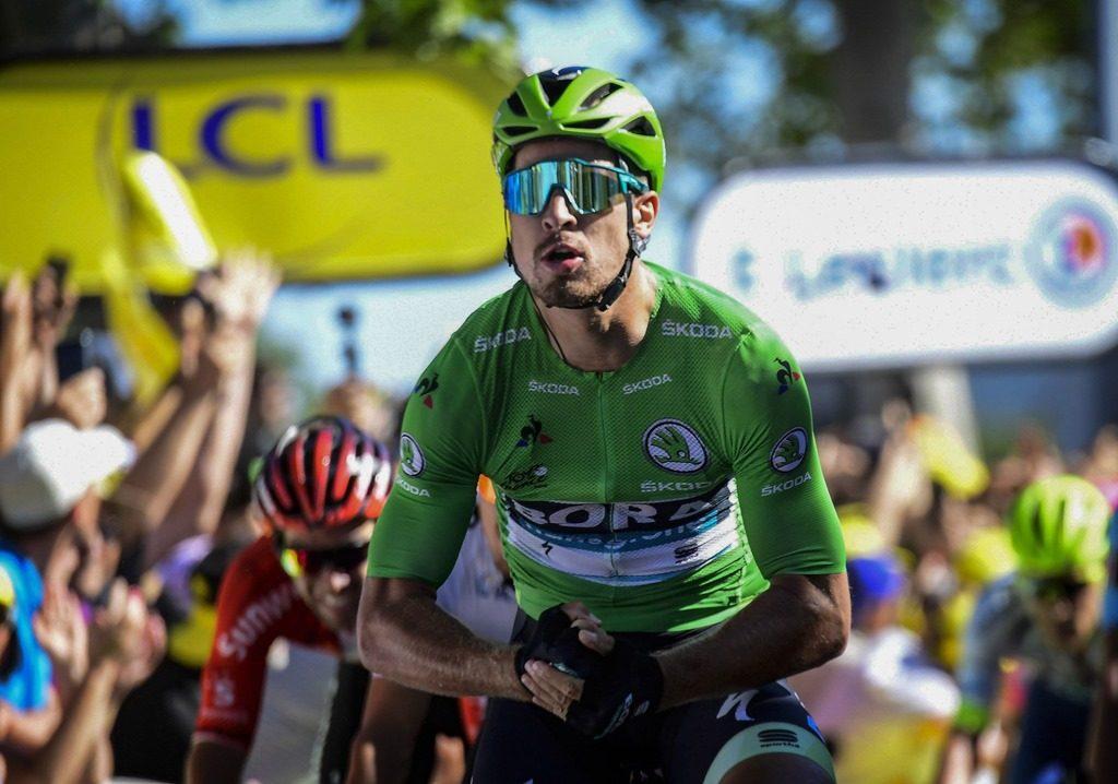 Петер Саган выиграл пятый этап «Тур де Франс»