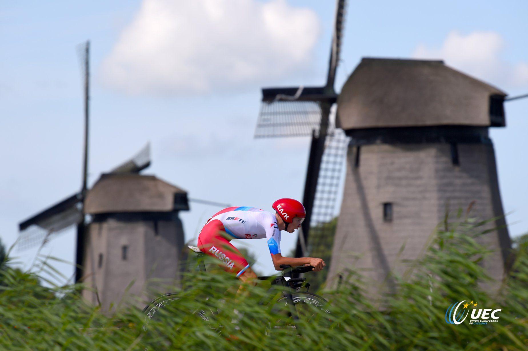 Фото со второго дня чемпионата Европы по велоспорту