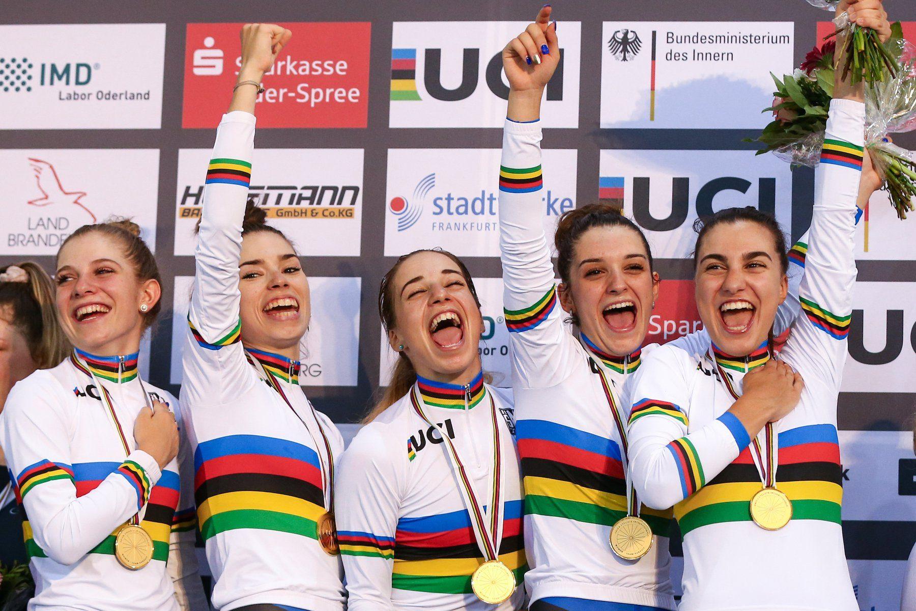 Все медали чемпионата мира по трековому велоспорту среди юниоров