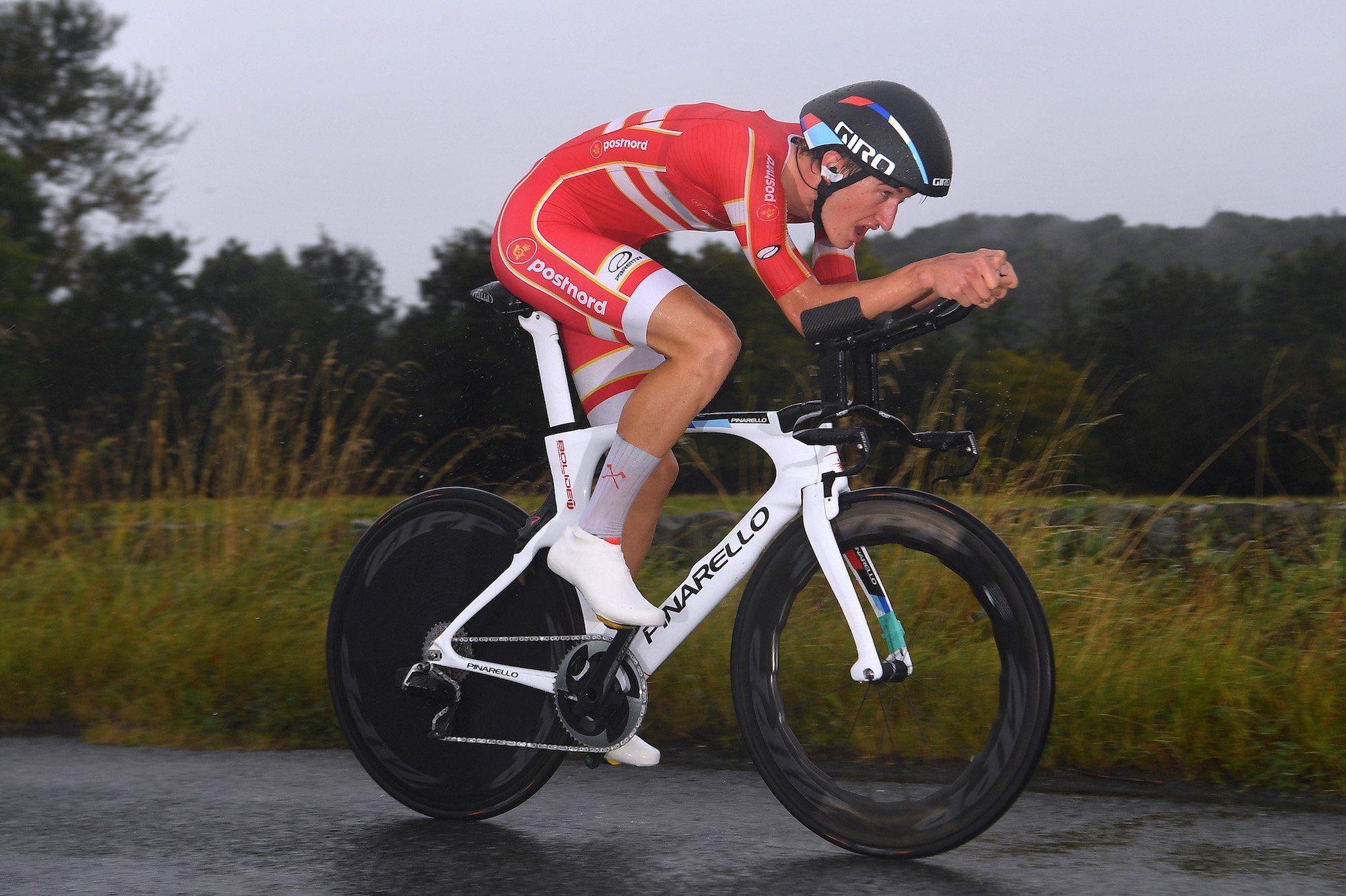 Хет-трик Миккеля Бьерга в «разделках» на чемпионатах мира по велоспорту