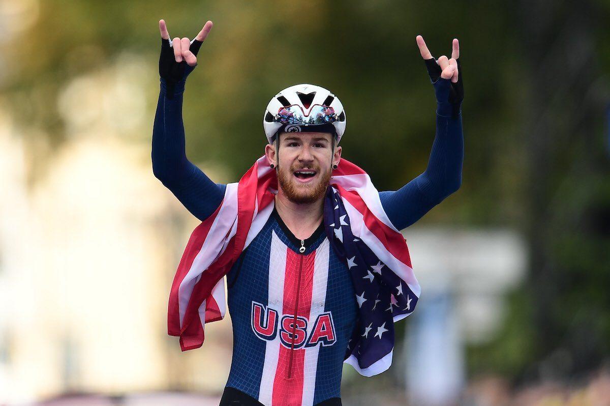 Куинн Симмонс — чемпион мира по велоспорту среди юниоров