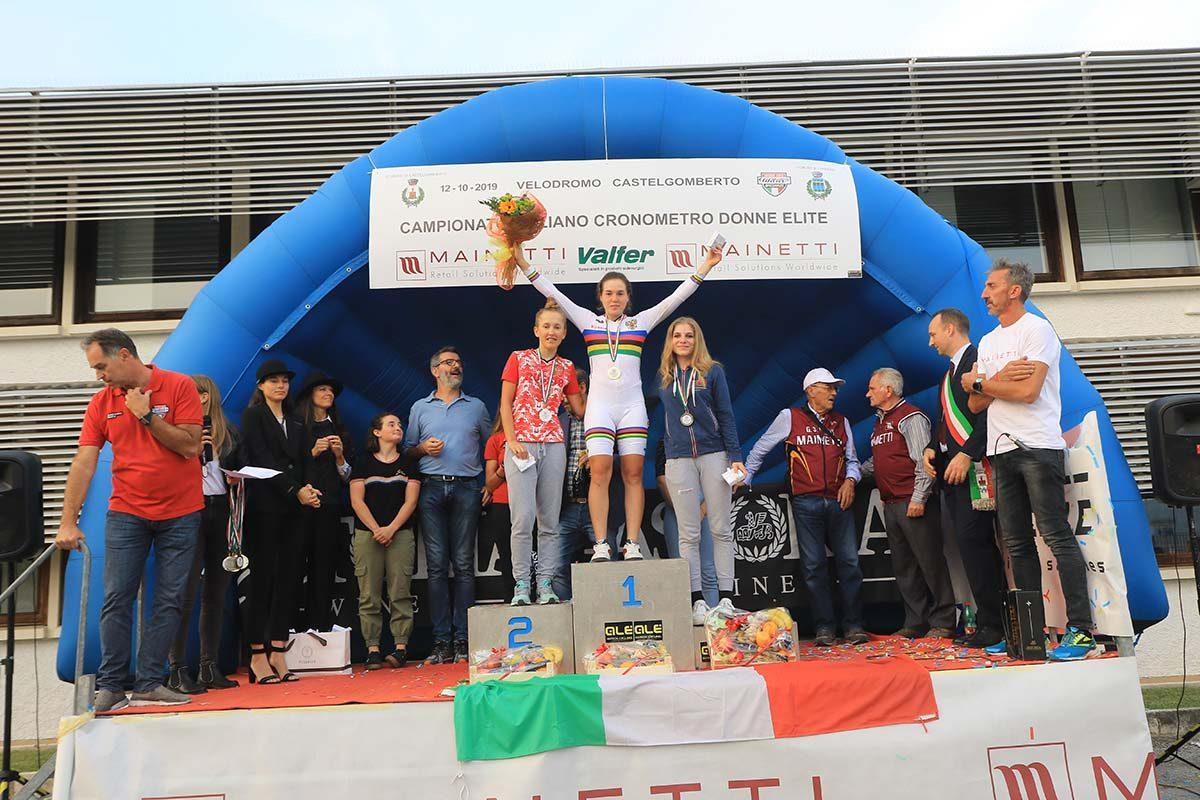 Айгуль Гареева выиграла Cronometro Castelgomberto
