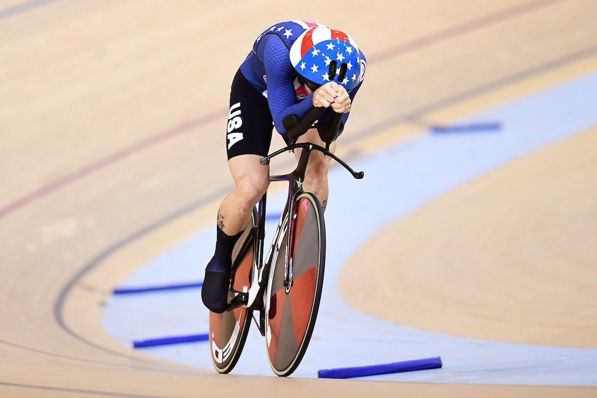 Филиппо Ганна побил мировой рекорд в индивидуальной гонке преследования на треке