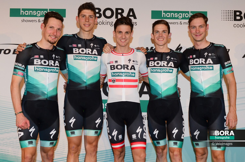 Презентация велокоманды Bora — Hansgrohe на сезон 2020 года