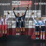 Россиянки завоевали бронзу в первый день IV этапа Кубка мира по трековому велоспорту
