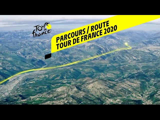 Видео маршрута «Тур де Франс — 2020»