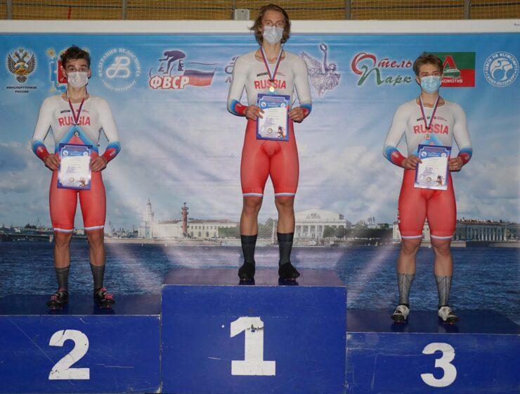 Обзор третьего дня первенства России по трековому велоспорту среди юниоров и андеров