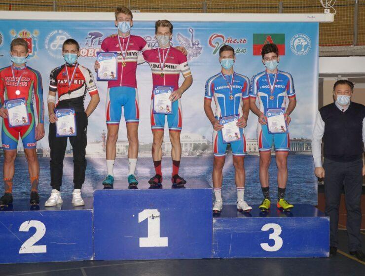 Обзор шестого дня первенства России по трековому велоспорту среди юниоров и андеров