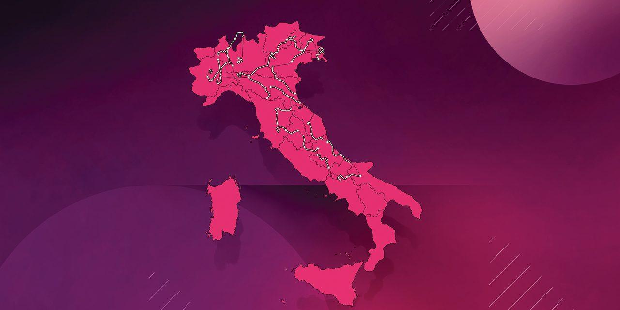 Презентация маршрута «Джиро д'Италия — 2021»