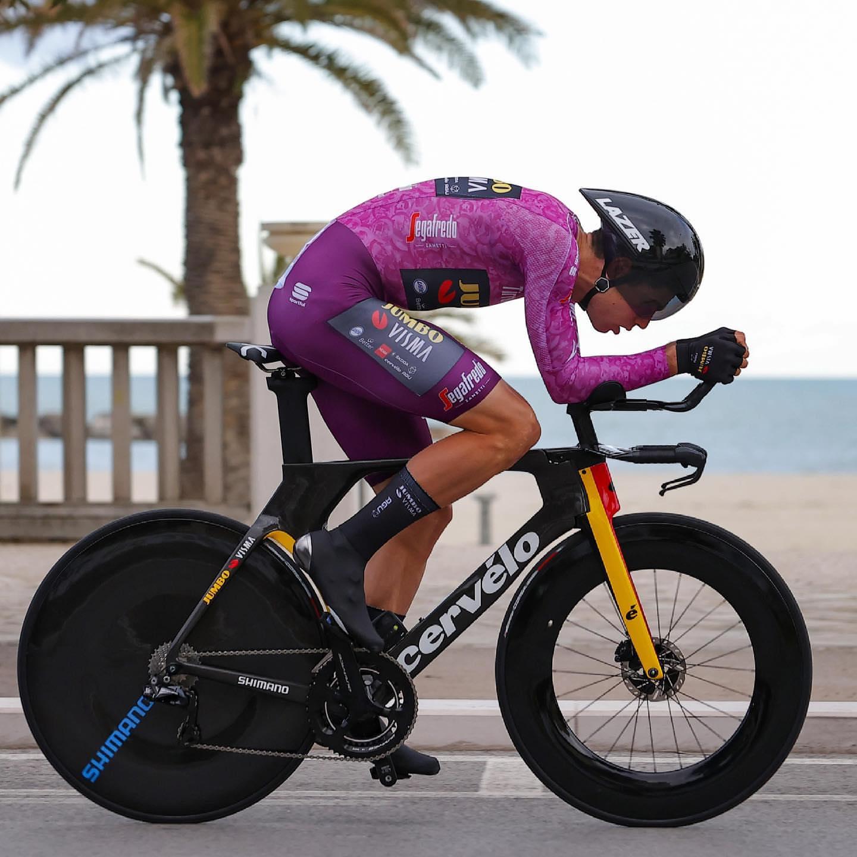 Тадей Погачар — победитель велогонки «Тиррено — Адриатико — 2021»
