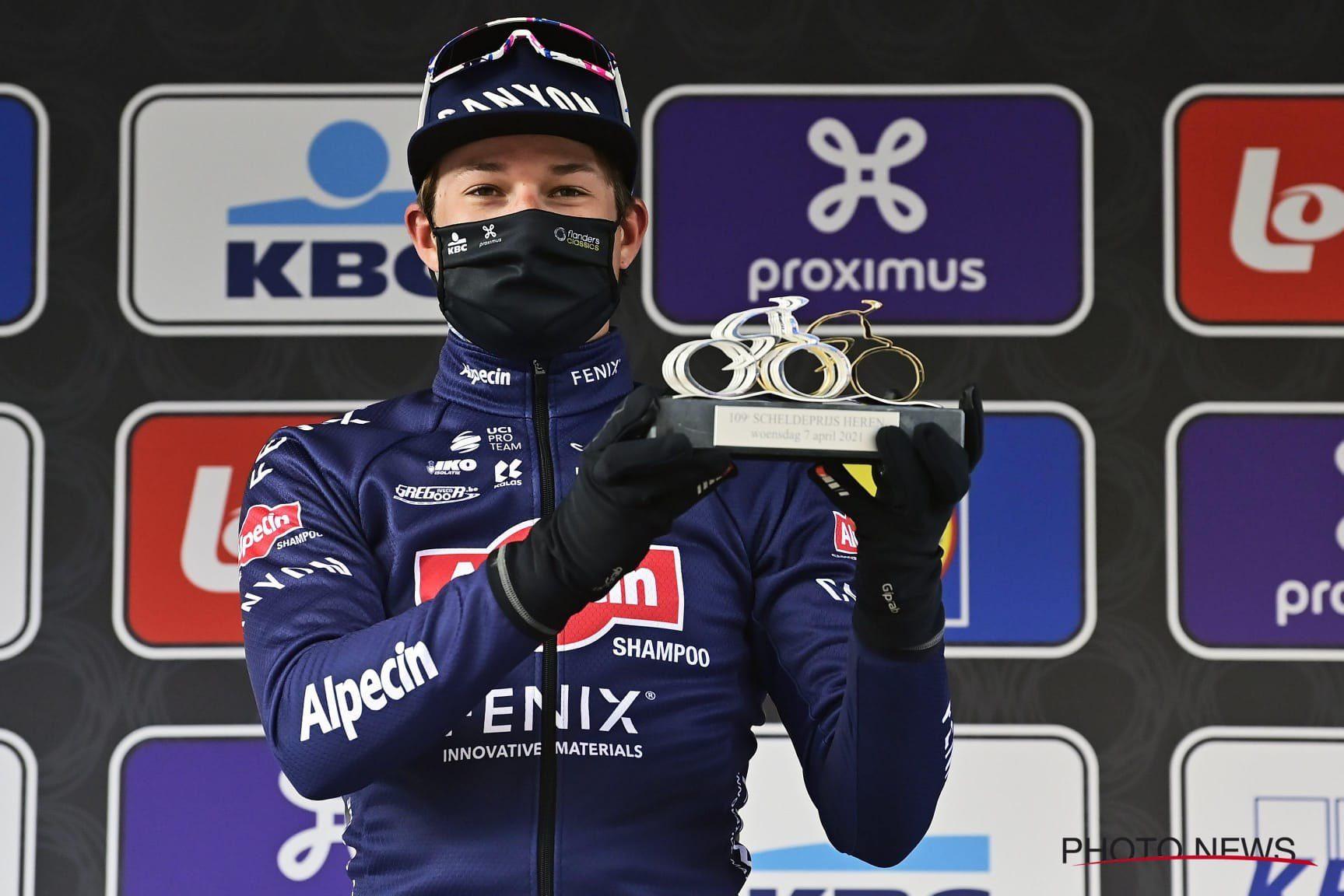 Йеспер Филипсен выиграл скоростной спринт на финише «Схелдепрейс»
