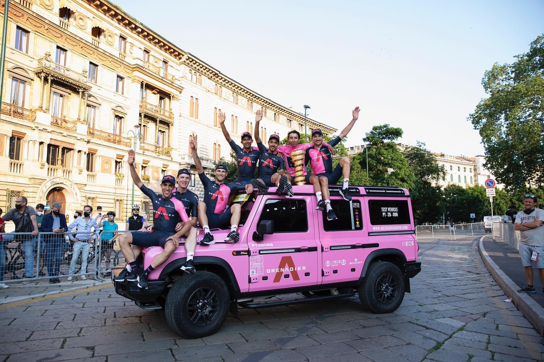Эган Берналь — победитель «Джиро д'Италия — 2021»