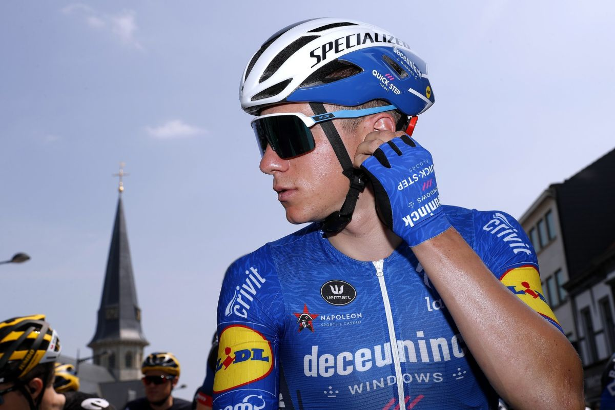 Робби Гис выиграл первый этап велогонки «Тур Бельгии»