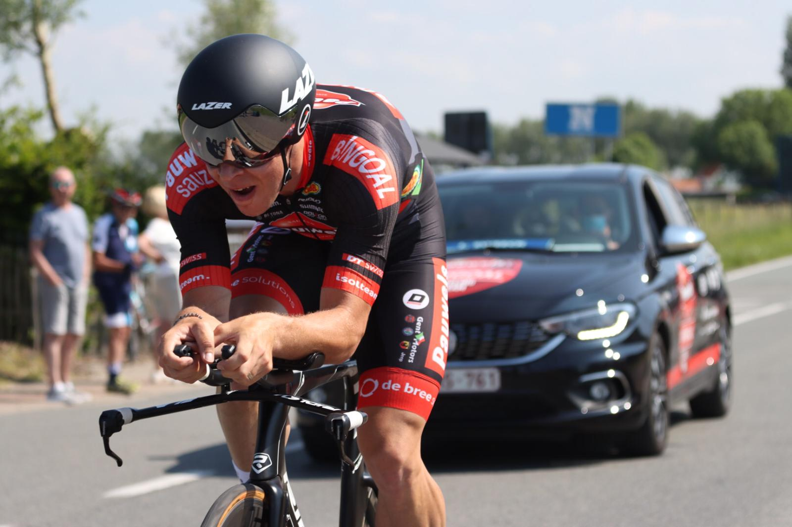 Ремко Эвенпул выиграл «разделку» на «Туре Бельгии»
